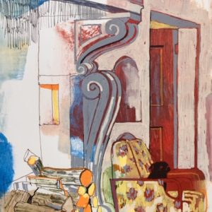 Fireplace, Palazzo Donati